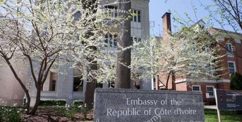 Une vue de l'Ambassade de la Côte d'Ivoire aux Etats-Unis. (Dr)