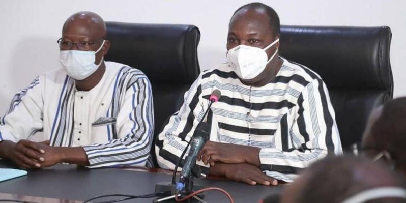 Zéphirin Diabré, ministre d'Etat auprès de la présidence du Faso, chargé de la Réconciliation nationale et de la Cohésion sociale. (Présidence du Faso)