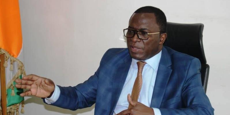Le ministre Paulin Claude Danho s'est envolé pour le Cameroun où il va promouvoir la candidature de Jacques Anouma. (DR)