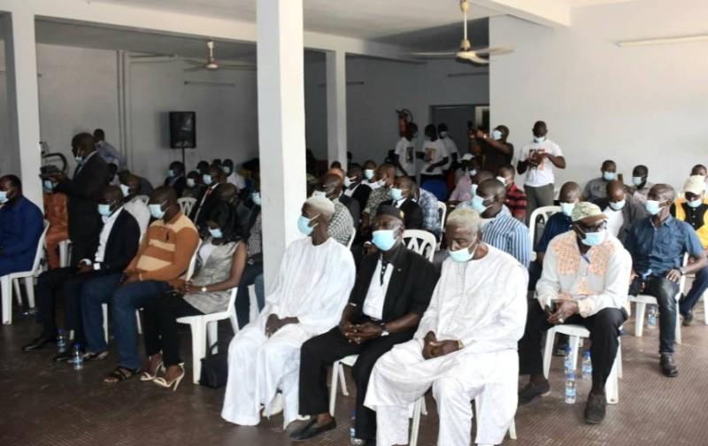 Amadou Koné s'est réjoui des actions entreprises par les transporteurs en vue d'accompagner le gouvernement (DR).