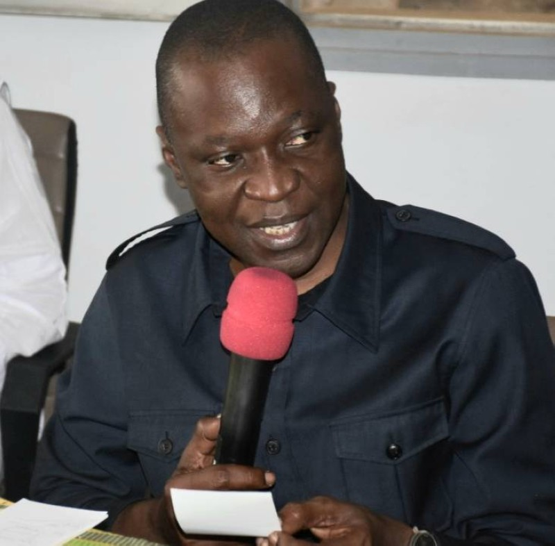 Le ministre des Transports, Amadou Koné