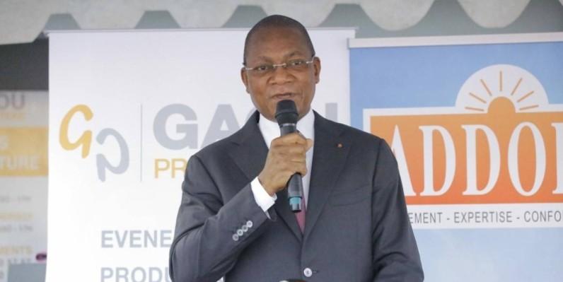 Le ministre de la Construction, du Logement et de l'Urbanisme, Bruno Koné, tire les conséquences de la première phase du programme des logements sociaux. (Dr)