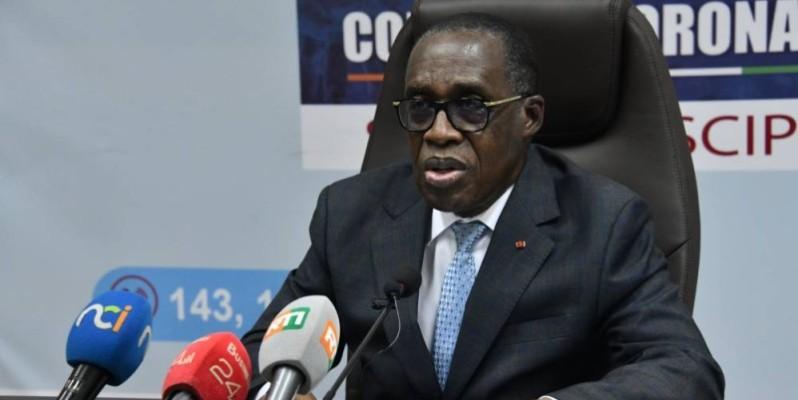 Dr Aka Aouélé, ministre de la Santé et l'Hygiène publique. (DR)