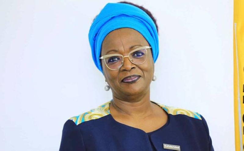 Mariam Jacqueline Gabala épouse Dao, présidente du Comité de normalisation. (Dr)