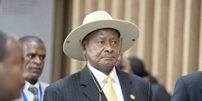 Le Président Yoweri Museveni, candidat à sa propre succession, est réélu pour un sixième mandat avec 58,64% des voix. (DR)