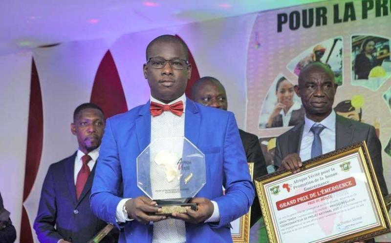 Mahamadou Sylla, directeur financier de l'Université Alassane Ouattara de Bouaké