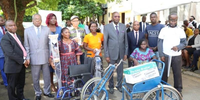 Les personnes en situation de handicap ont bénéficié de nombreux équipements de la part du gouvernement. (Dr)