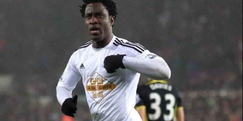 Bony Wilfried n'exclut pas un retour à Swansea. (DR)