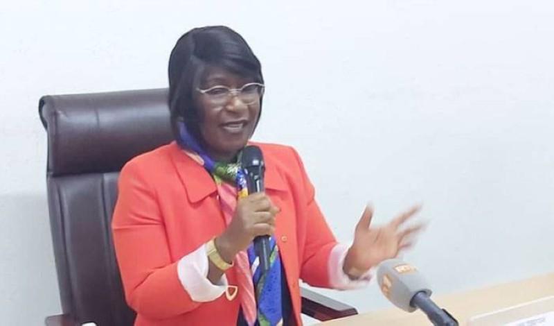 La secrétaire d'État chargée des Droits de l'homme, Aimée Zebeyoux, appelle les uns et les autres à la décrispation du climat socio-politique. (DR)