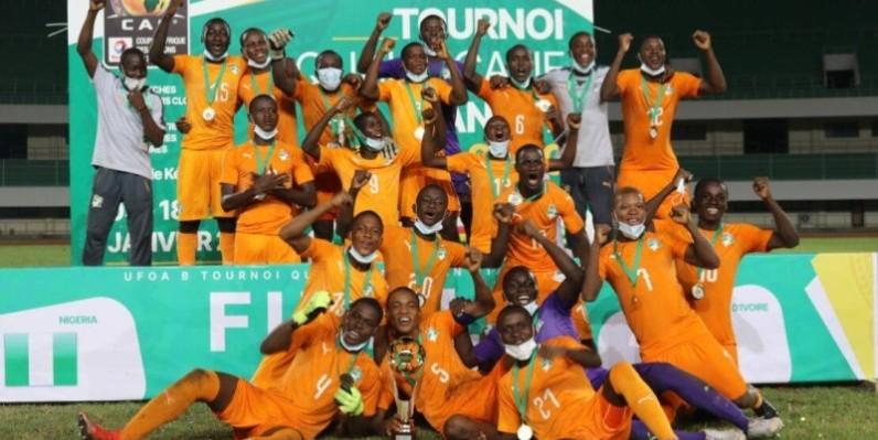 Les cadets ivoiriens ont dominé tous leurs adversaires dans la compétition. (DR)