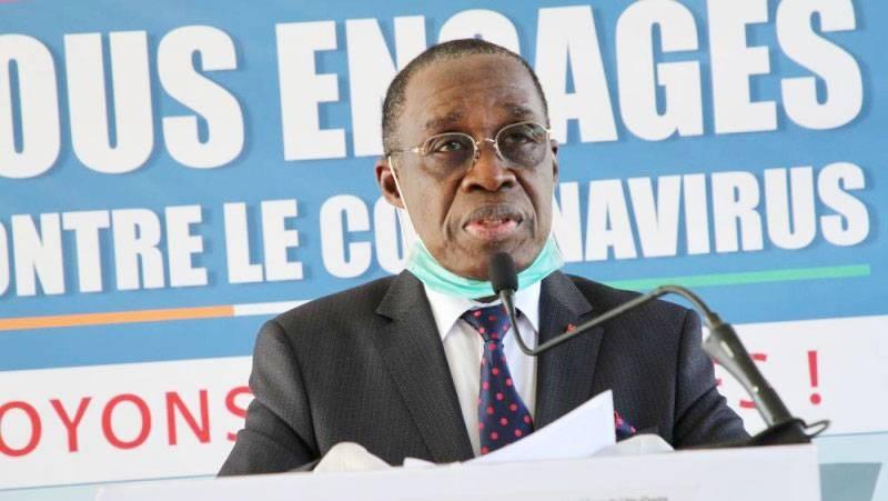 Dr Eugène Aka Aouélé, ministre de la Santé et de l'Hygiène publique. (DR)