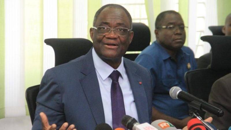 Le secrétaire exécutif du Pdci-Rda, Maurice Kakou Guikahué qui avait été hospitalisé en France pour des problèmes cardiaques a été relaxé. (DR)