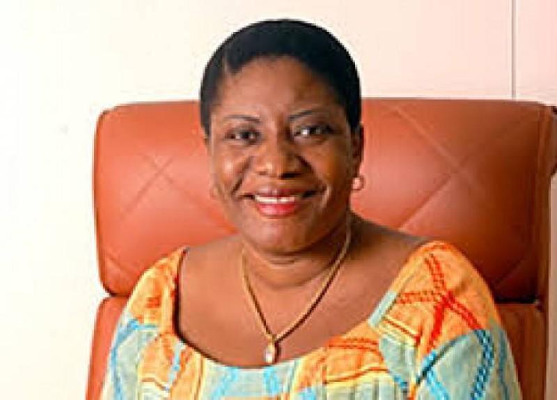 Henriette Lagou est la présidente du Renouveau pour la paix et la concorde (le Rpc-paix). (Dr)