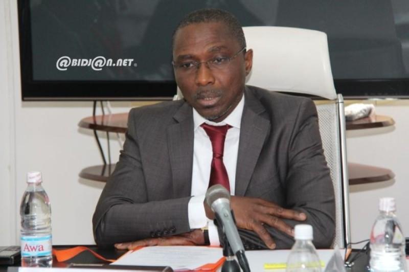 Méité Sindou, directeur de la rédaction de Nord Sud. (DR)