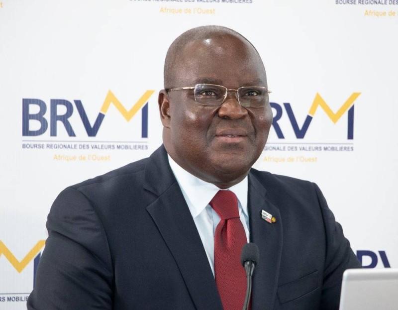 Dr Edoh Kossi Amenounvé, directeur général de la Brvm et du DC/BR. (DR)