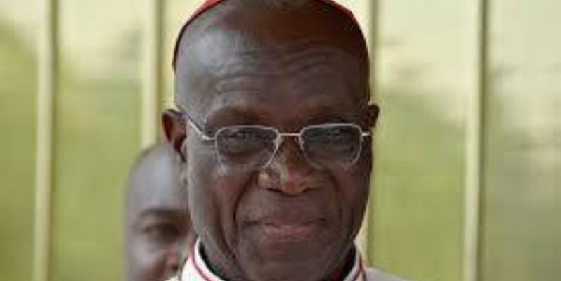 Malgré l'âge de la retraite, le cardinal Kutwa va encore poursuivre sa mission, à la tête de l'archidiocèse d'Abidjan. (Dr)