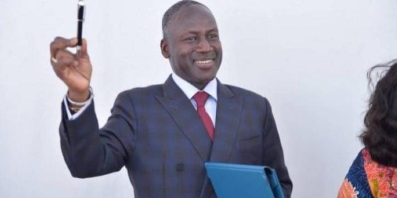 Adama Bictogo, directeur exécutif du Rhdp appelle les candidats recalés à soutenir ceux qui ont eu le parrainage du parti. (Dr)