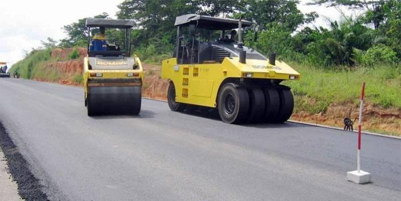 La Côte d'Ivoire investit d'importantes ressources pour se doter d'un réseau routier moderne. (Dr)