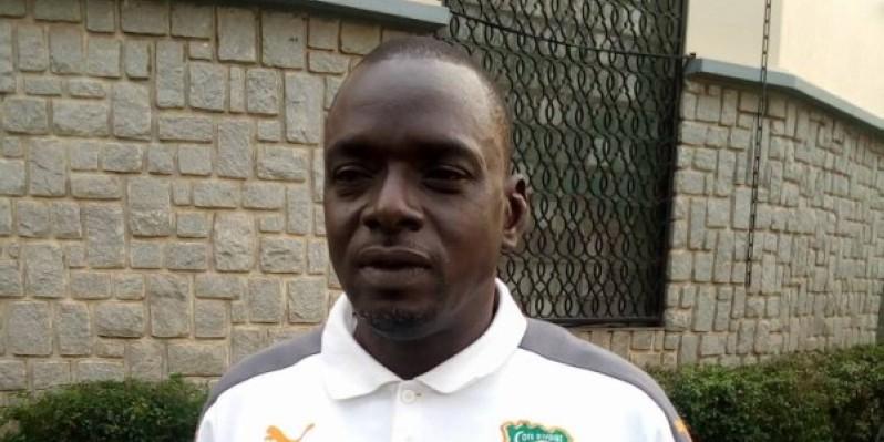Dao Lacina, entraîneur des Éléphanteaux cadets. (DR)