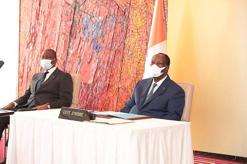 Le Président de la République, Alassane Ouattara. (DR)