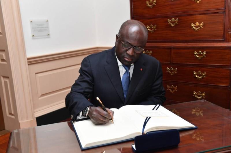L'ex-ministre des Affaires Etrangères, Marcel Amon Tanoh