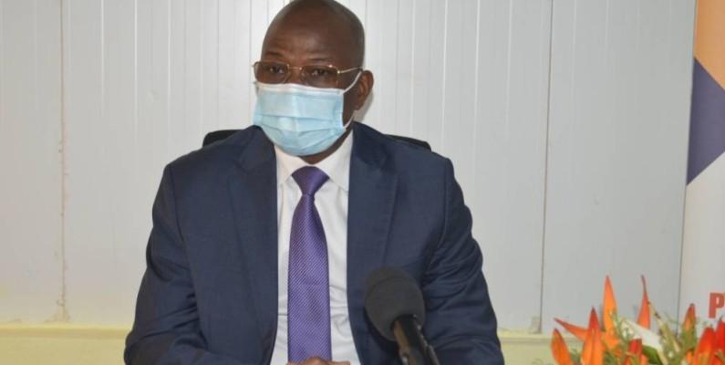 Bamba Vassogbo, directeur de cabinet adjoint du ministre de l'Économie et des Finances.