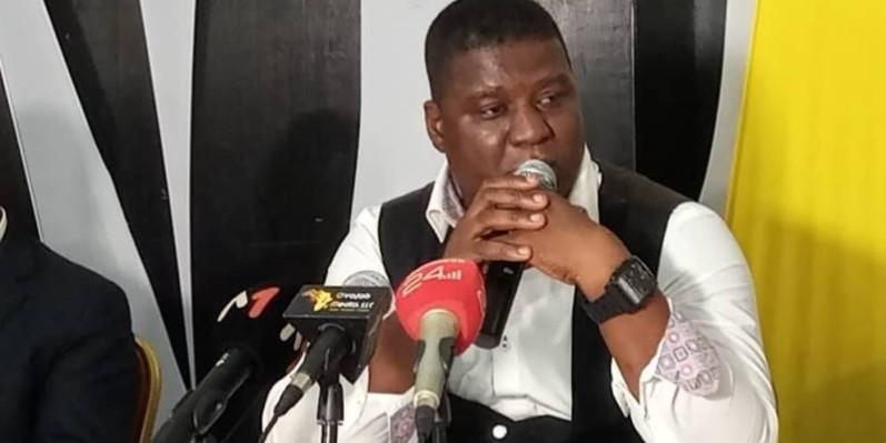 Joël Nianzou, président de la Plateforme de la presse numérique de Côte d'Ivoire (Ppnci).