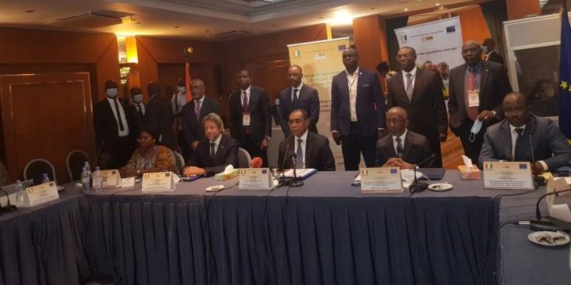 Les acteurs nationaux et régionaux de la coopération entre l'Ue et les pays ACP se sont réunis, mardi, autour du futur accord de partenariat. (DR)
