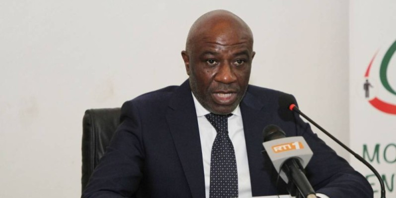 Roder Adom, ministre de la Modernisation de l'Administration. Ph: Joséphine Kouadio