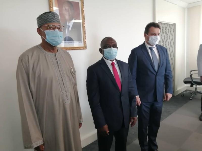 Le ministre de la Réconciliation nationale et la délégation des Nations unies ont échangé sur sa mission et les moyens nécessaires pour la réussir. (Dr)