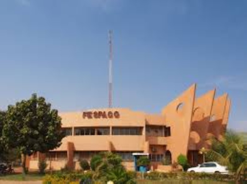 Le palais du Fespaco ne sera certainement pas animé, cette année, dans sa formule habituelle (Photo Dr)