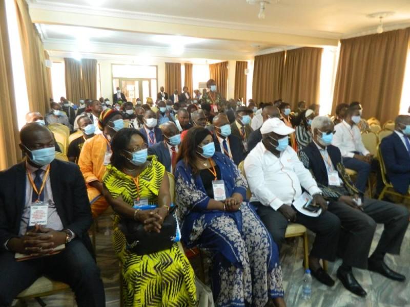 Des sociétaires du Burida ont répondu nombreux au séminaire (J. Bavane)