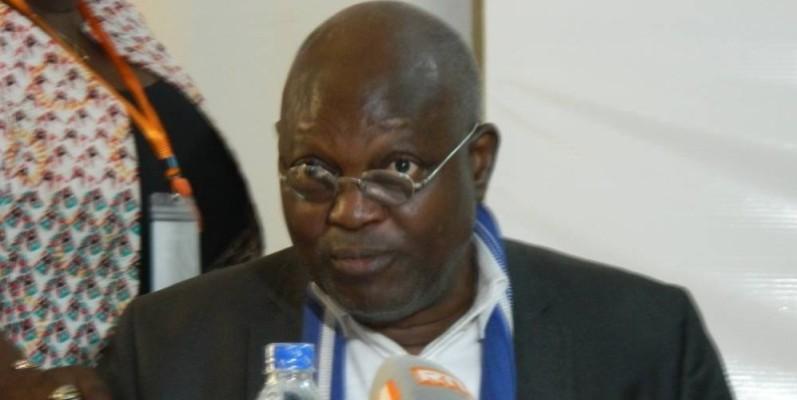 Tuburce Koffi, président du Conseiml de gestion et de restructuration du Burida (J. Bavane)