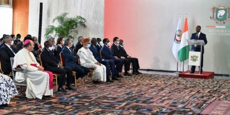 Le Président Alassane Ouatttara s'est engagé à renforcer davantage la paix en Côte d'Ivoire. (DR)