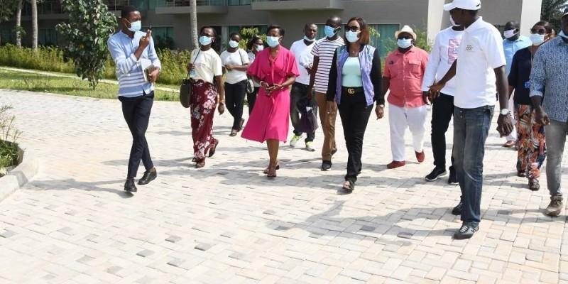 La délégation de Côte d'Ivoire tourisme visite le BBR
