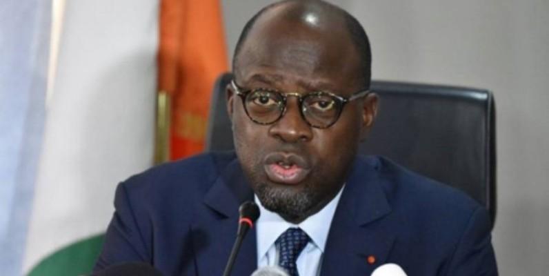 Alain Richard Donwahi, ministre des Eaux et Forêts. (DR)