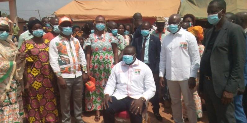 Youssouf Diaby, directeur de cabinet de Blé Goudé, est porteur d'un message à la ministre de la Solidarité, de la Cohésion sociale et de la Lutte contre la pauvreté.(DR)