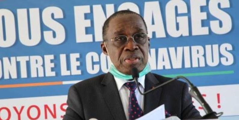 Selon Aka Aouélé, à la date du 10 février 2021, la Côte d'Ivoire compte 28 320 personnes guéries, 169 décès et 1 751 cas actifs. (Dr)