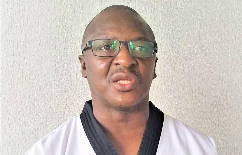 Me Koné Tidjane, président du forum des ligues de Taekwondo. (DR)