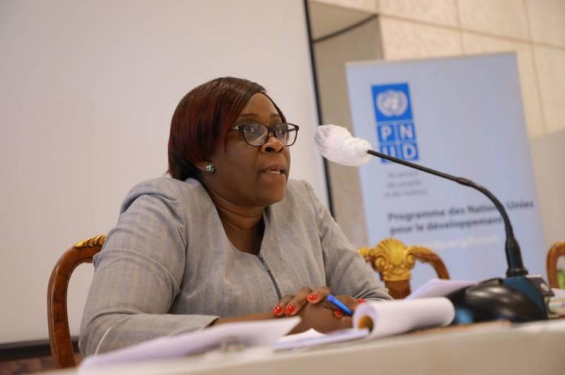 Mme Diplo Régina, sous-directeur du monitoring à l'Anp. (J. Bavane)