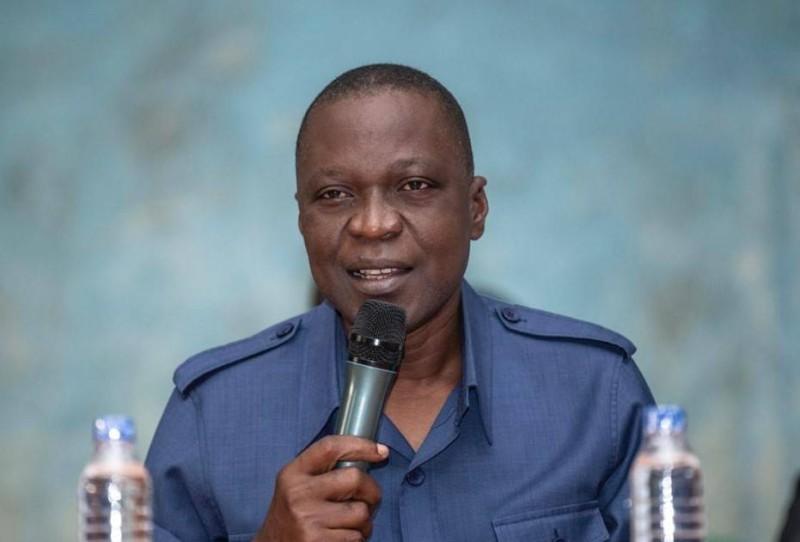 Le candidat Amadou Koné