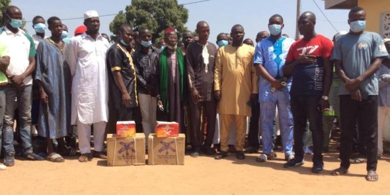Les populations ont apprécié le geste d'Ousmane Bamba. (DR)