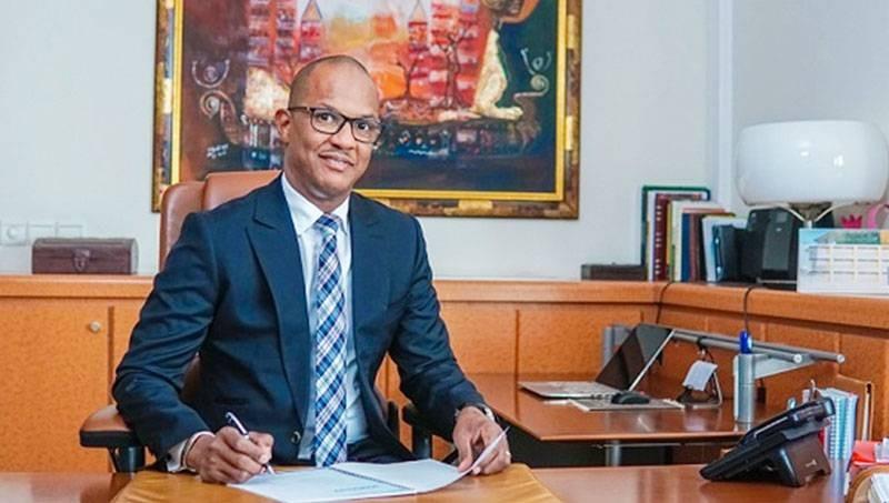 Adrien Diouf, directeur général d'Umoa-Titres. (Photo : DR)