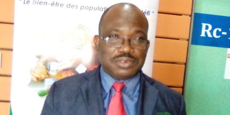 M. Semon Bamba, coordonnateur national de la cellule de coordination de la coopération Côte d'Ivoire-Union européenne. (Franck YEO)