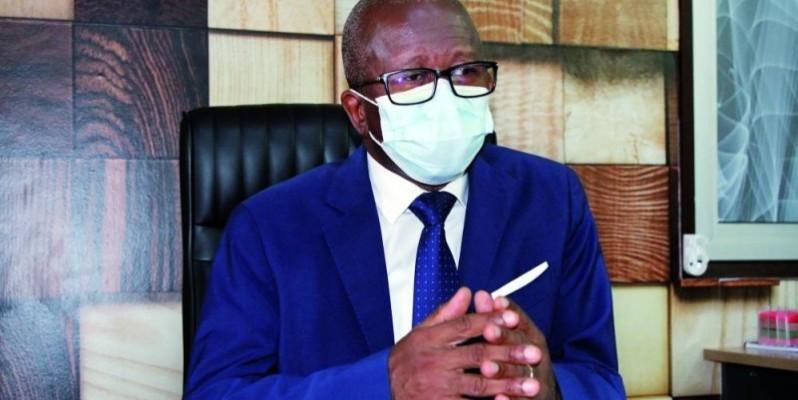 Dr Assane Coulibaly, directeur général de l'Autorité ivoirienne de régulation pharmaceutique. (Photo : Joséphine Kouadio)