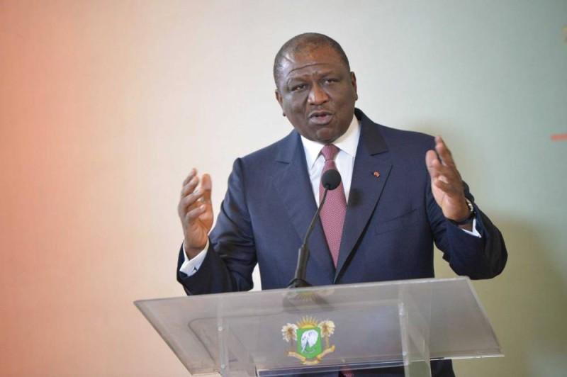 Le Premier ministre Hamed Bakayoko. (DR)
