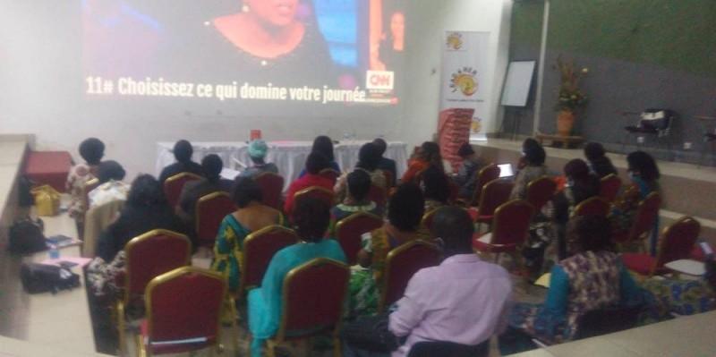 Les participantes ont accueilli la formation avec enthousiasme. (J. Bavane)