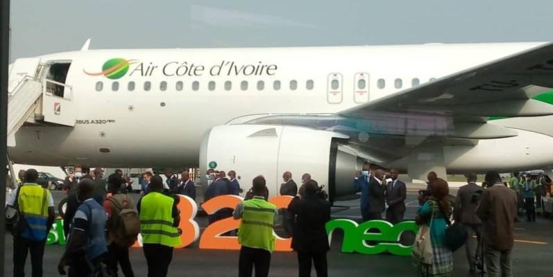 La compagnie aérienne nationale, Air Côte d'Ivoire. (DR)