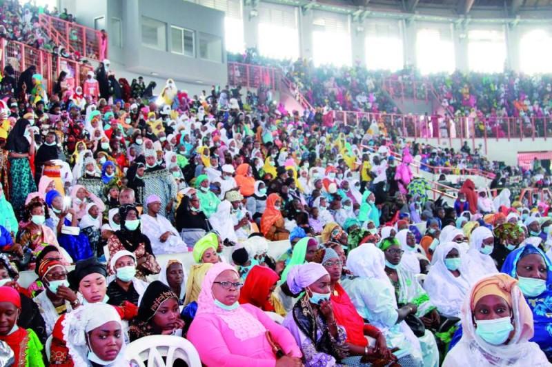 Les fidèles musulmans sont venus nombreux pour écouter le message du guide musulman. (Sébastien Kouassi)