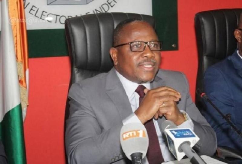 Coulibaly-Kuibiert, président de la CEI. (DR)